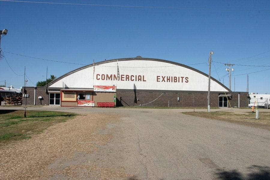 Commercial Exhibits Building